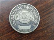 1989 GIANTS National League Champions .999 fine SILVER COIN